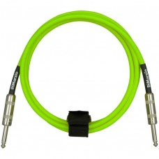 DIMARZIO EP1710SS INSTRUMENT CABLE 10ft (NEON GREEN)