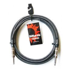 DIMARZIO EP1718SS INSTRUMENT CABLE 18ft (BLACK GRAY)