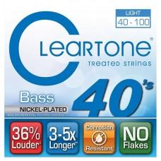 CLEARTONE 6440 BASS NICKEL-PLATED LIGHT 40-100