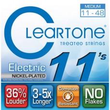 CLEARTONE 9411 ELECTRIC NICKEL-PLATED MEDIUM 11-48