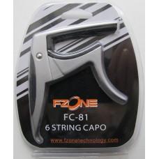 FZONE FC-81 GUITAR CAPO (Silver)