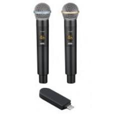 USB-беспроводная микрофонная система UF-500
