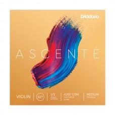 D`ADDARIO A310 1/2M Ascenté Violin Strings 1/2M