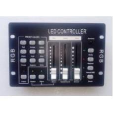 3 COLOR LED DMX Контроллер PR-303