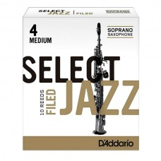 D`ADDARIO Select Jazz - Soprano Sax 4M - 10 Box;  3M - 10 Box;  2M - 10 Box