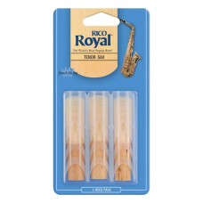RICO Rico Royal - Tenor Sax #2.5 - 3-Pack;  2.0 - 3-Pack;  3.0 - 3-Pack